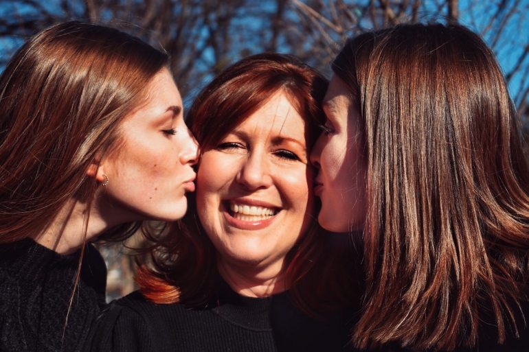 A mother and two daughters - moving out of your parents' house in NH