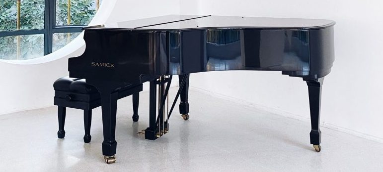 an expensive piano